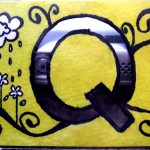 The letter Q!