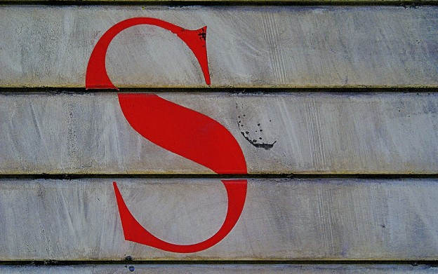 The letter S!